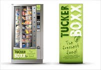 Graphic Design Inscrição do Concurso Nº136 para Graphic Design (logo, signage design) for TuckerBoxx fresh food vending machines