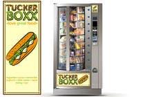 Graphic Design Inscrição do Concurso Nº97 para Graphic Design (logo, signage design) for TuckerBoxx fresh food vending machines