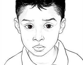 #30 para Caricature design of my son por AkshayArtPawar