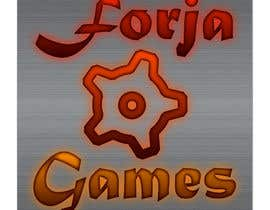 kevmen01 tarafından Logo design for Forja Games [Forja = Forge] için no 36