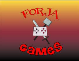 #40 for Logo design for Forja Games [Forja = Forge] af Vyalam