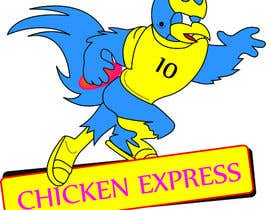 #22 untuk Graphic Design for Chicken Express oleh ScubeITC