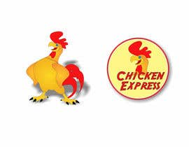 #37 untuk Graphic Design for Chicken Express oleh b0bby123
