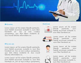 oswaldvillarroel tarafından Design a Website Mockup for a Medical Management Company için no 1