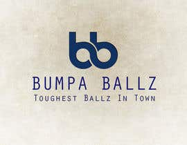 "xdesign123 tarafından Create a LOGO for business name ""BUMPA BALLZ"" & one for ""BB"" - include slogan ""Toughest Ballz in town"" için no 40"