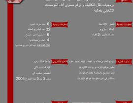 #24 para I need to buy 10 infographic CV template (6 in Arabic Languages, 4 in English) por aishaelsayed95