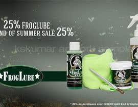 "#7 for Banner design for ""End of summer sale"" on homepage af kskumar2010"