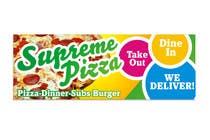 Bài tham dự #75 về Graphic Design cho cuộc thi Design a sign for a pizzeria