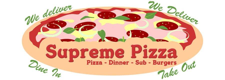 Bài tham dự cuộc thi #                                        11                                      cho                                         Design a sign for a pizzeria