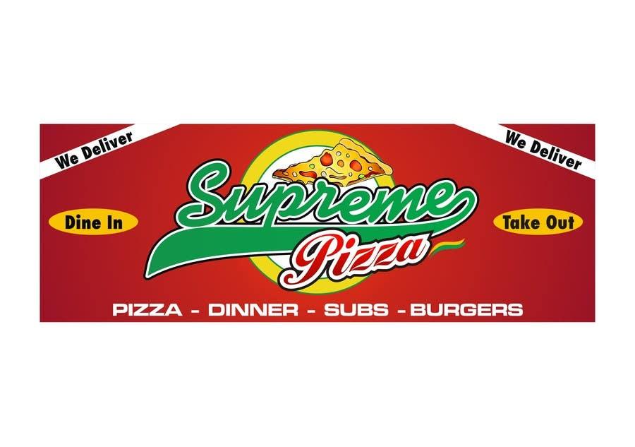 Bài tham dự cuộc thi #                                        51                                      cho                                         Design a sign for a pizzeria