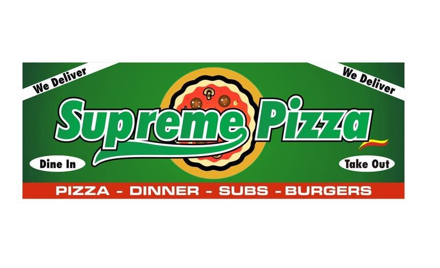 Bài tham dự cuộc thi #                                        60                                      cho                                         Design a sign for a pizzeria