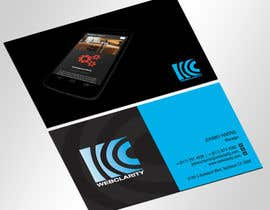 #67 untuk Design some Business Cards for Web Company (Vector / AI) oleh jobee