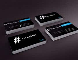 #53 para Design a Business Card for Boutique Sock Retailer por thimsbell