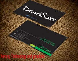 #43 for Design a Business Card for Boutique Sock Retailer by praveenjangid