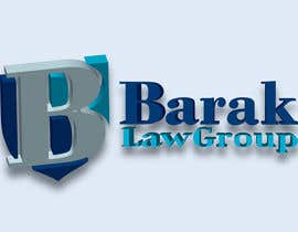 #318 para Logo Design for Barak Law Group de DeakGabi