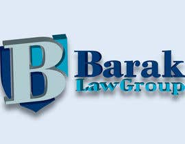 #317 para Logo Design for Barak Law Group de DeakGabi