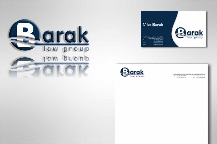 Inscrição nº                                         294                                      do Concurso para                                         Logo Design for Barak Law Group
