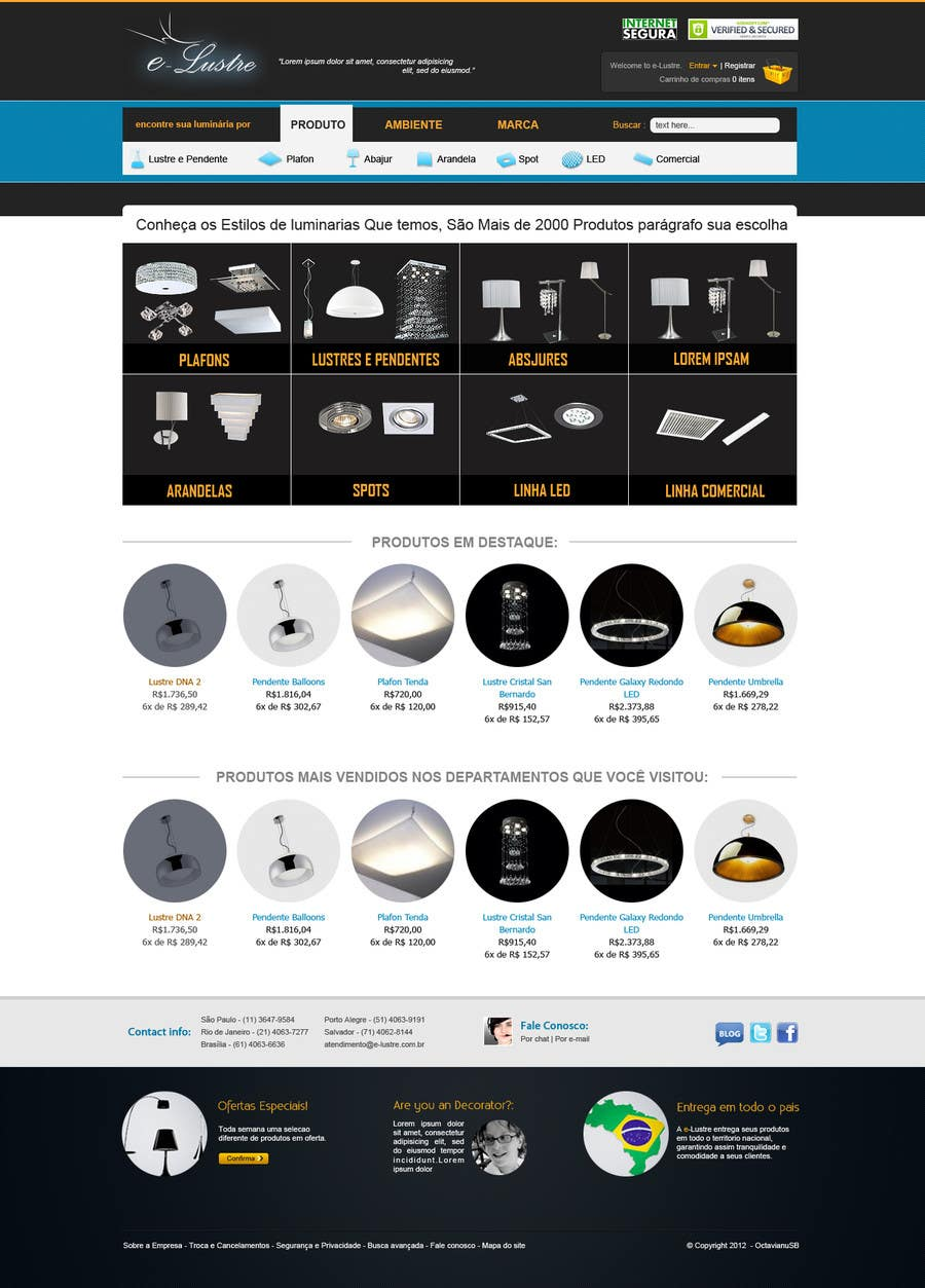 #4 for Home-Page REVAMP (improve layout of the main page) by designgallery87