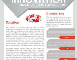 #5 untuk Innovation flyer to match current business branding oleh andrewaguero