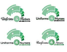 "#35 para Design a Logo for Uniform Company ""Uniforms 4 Nurses, by Nurses"" (clothing company) por anamiruna"