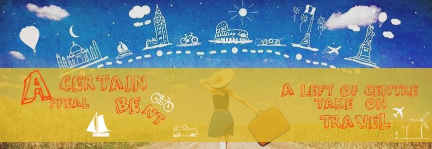 Konkurrenceindlæg #26 for Design a Banner for my Travel Blog