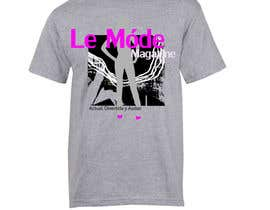 #141 para T-shirt Design for Le Mode Magazine de susanousiainen