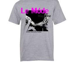 #140 para T-shirt Design for Le Mode Magazine de susanousiainen