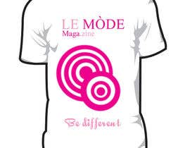 #158 para T-shirt Design for Le Mode Magazine por Wariouzs