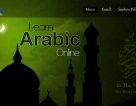 #21 para Design a Banner for Arabicclasses.org por hafizawais456