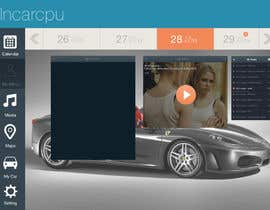 nº 12 pour Design an App Mockup for Metro 8, Automotive GUI par ervanfahren