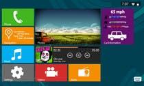 Graphic Design Inscrição do Concurso Nº5 para Design an App Mockup for Metro 8, Automotive GUI