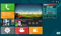 Graphic Design Inscrição do Concurso Nº7 para Design an App Mockup for Metro 8, Automotive GUI