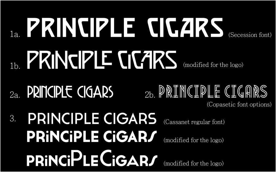 Konkurrenceindlæg #30 for Design a CIGAR Band/Logo/Label - Aviation Theme