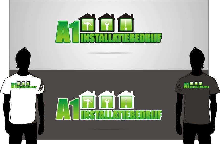 Konkurrenceindlæg #                                        19                                      for                                         Logo for A1 Installatiebedrijf