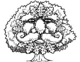 #12 para Illustrate an Oak tree with Character por fong182