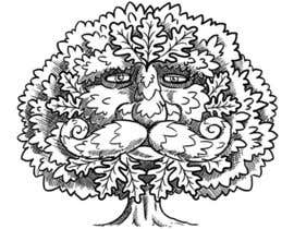#24 para Illustrate an Oak tree with Character por fong182