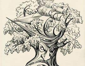 #31 para Illustrate an Oak tree with Character por lausta
