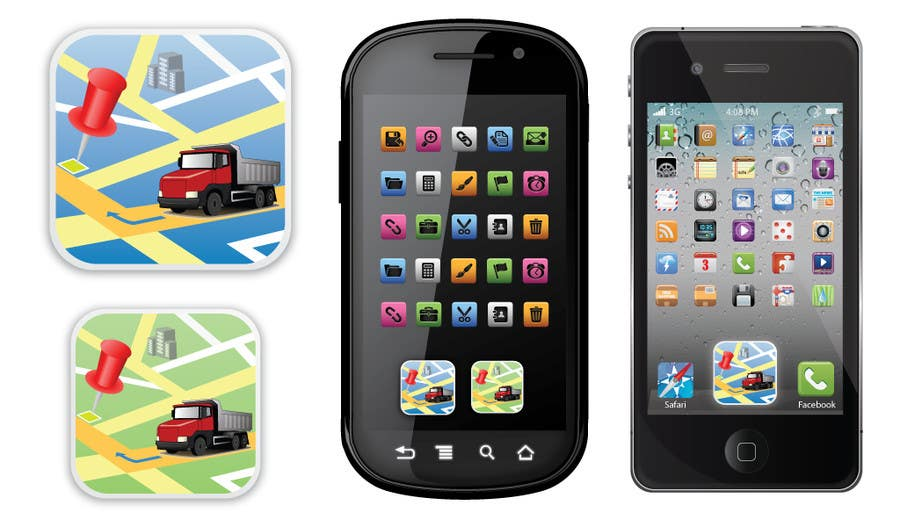 #16 for App icon for iphone and Android by shyammohan3089