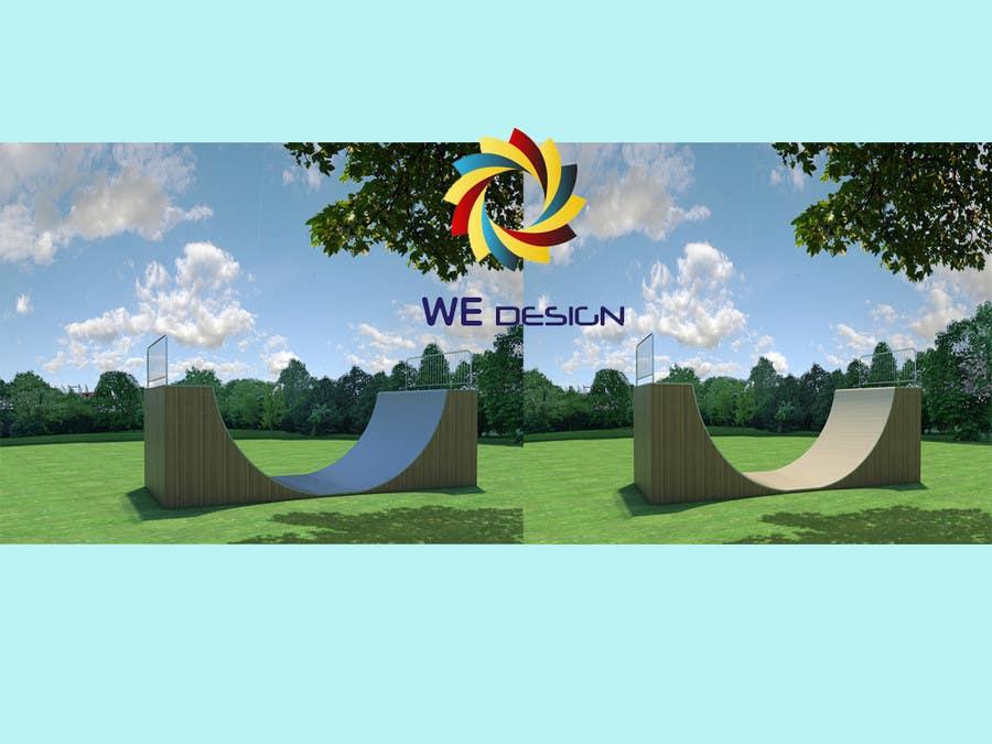 Proposition n°3 du concours Design a Mini Skate ramp