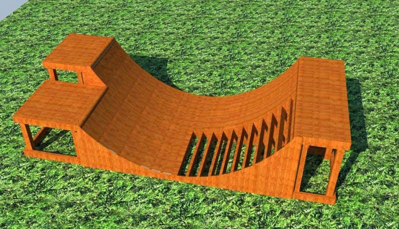 Proposition n°6 du concours Design a Mini Skate ramp