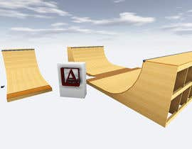 #1 para Design a Mini Skate ramp por ArchAndreev