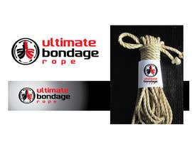 #271 para Logo design for Ultimate Bondage Rope por ArteeDesign