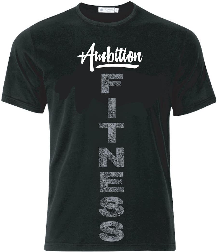 Shirt design companies -  63 For Modern T Shirt Design Fitness Based Company By Elliondesignidea