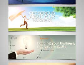#16 untuk Design a Banner for a website that does business and management coaching oleh dindinlx