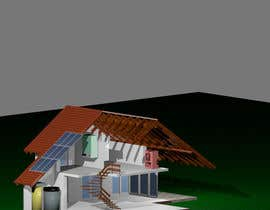 #6 cho Illustration Design of solar heating for www.thomasgregersen.dk bởi kendor