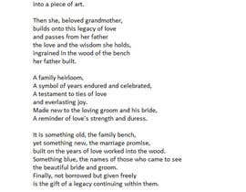#12 for Poem for Wedding by cpiercey