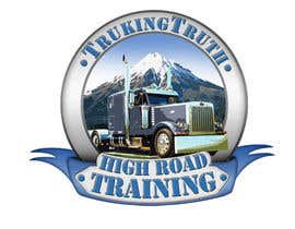 #135 para Design a Logo for TruckingTruth.com High Road CDL Training Program por OmB