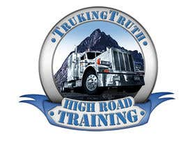#139 para Design a Logo for TruckingTruth.com High Road CDL Training Program por OmB