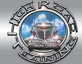 #114 para Design a Logo for TruckingTruth.com High Road CDL Training Program por ilocun14