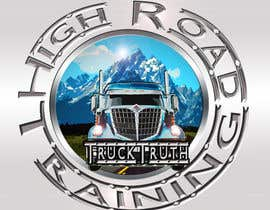 #145 para Design a Logo for TruckingTruth.com High Road CDL Training Program por ilocun14